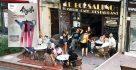 La terrasse du Borsalino côté boulevard Jean jaurès accueillera les visiteurs d'Argilla, tout autant que la terrasse place de l'Alouette, de l'autre côté du restaurant